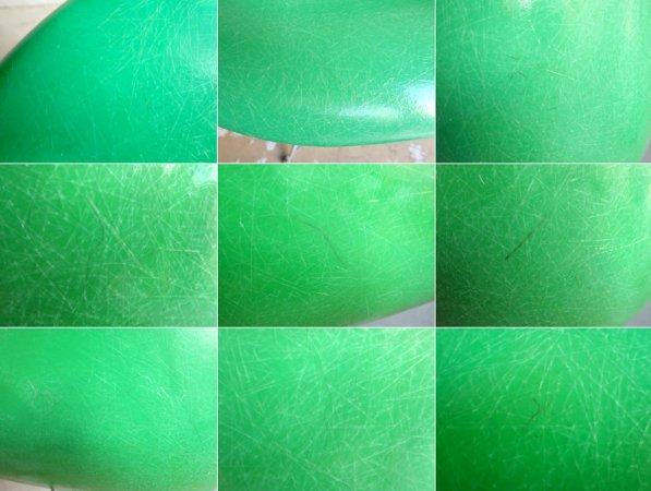 モダニカ Modernica アームシェルチェア エッフェルベース FRP グラスグリーン C&Rイームズ ミッドセンチュリー ♪