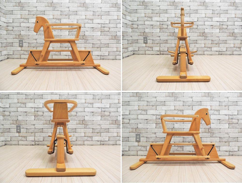 ゴイター Geuther ロッキングホース 木馬 ドイツ ボーネルンド取り扱い 乗用玩具 ●