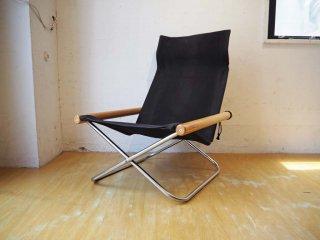 ニーチェア エックス Ny chair X フォールディングチェア ブラック 折畳 チェア 新居 猛 MoMA ★