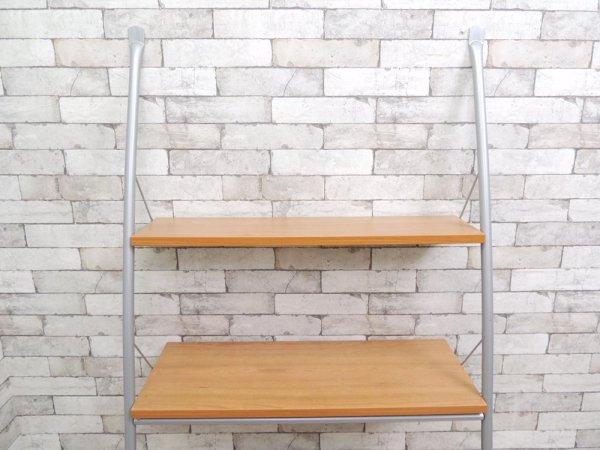 グランビック GRANVIK 4段ウォールシェルフ 飾り棚 立て掛けシェルフ スウェーデン グッドデザイン賞受賞 ナチュラル ●