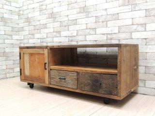 ジャーナルスタンダードファニチャー journal standard Furniture ブレダ BREDA TVボード AVボード 古材リメイク ●