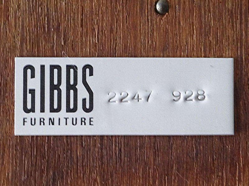 ハーバート E. ギブス ファニチャー HERBERT E. GIBBS FURNITURE 英国 70's ビンテージ チーク材 ガラスキャビネット 飾り棚 ショーケース 陳列棚 書棚 店舗什器 ◇