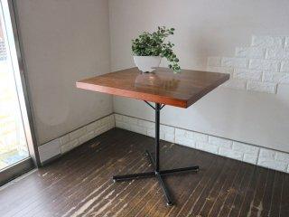ジャーナルスタンダードファニチャー journal standard Furniture サンク SENS スクエア カフェテーブル 無垢集成材 インダストリアル ◎