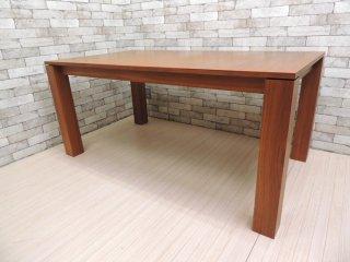 モーダエンカーサ moda en casa アマンド AMANDO 伸長式 ダイニングテーブル ウォールナット 160-220 ●