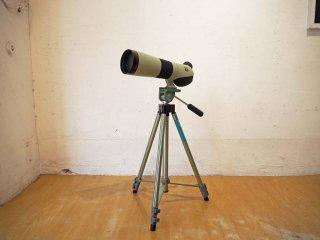 ニコン Nikon フィールドスコープ FIELD SCOPE ED78-P ニコン製接眼レンズ SLK1100 三脚 雲台 付★