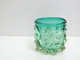 ポルスポッテン Pols Potten ガラスベース Glass Vase Green オランダ プールアニック取扱い ●