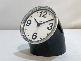 アレッシィ ALESSI クロノタイム CRONOTIME テーブルクロック ピオ・マンズ Pio Manzu 置時計 ブラック レトロ クラシック MoMA イタリア ■