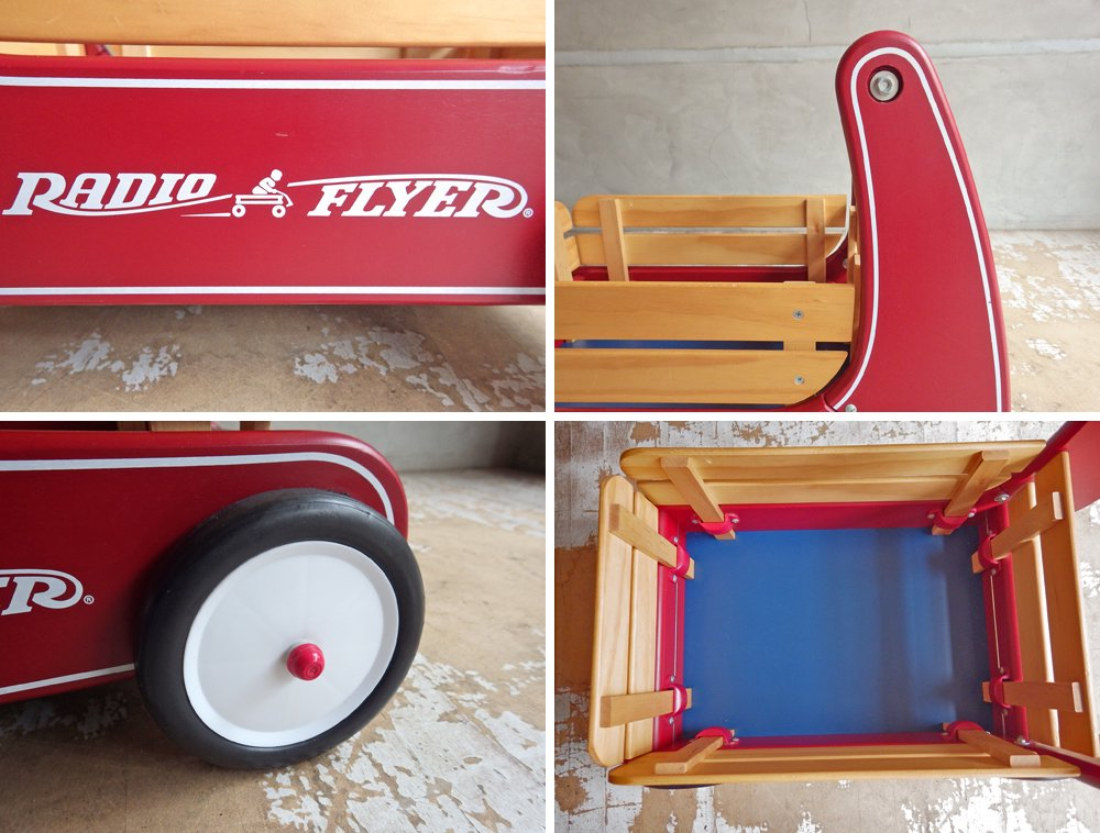 ラジオフライヤー RADIO FLYER クラシックウォーカーワゴン Classic Walker Wagon おもちゃ 玩具 乗用玩具 定価¥19,500- ♪