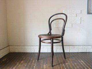 英国 アンティーク UK Antique ベントウッドチェア 曲木椅子 カフェチェア ダイニングチェア イギリス B ◎