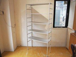 シンプルモダン アルミアルマイト オープンシェルフ 5段  Open Shelf ★