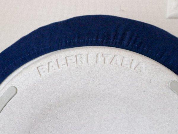 バレリイタリア Baleri Italia ルネラ Lunella スツール スタッキング カバーリング ブルー ミニマル オブジェ 定価45,100円 ◎