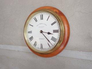 john moore & sons clerkenwell 掛け時計 ウォールクロック ペニーワイズ 取扱 ♪