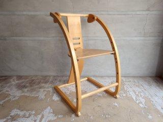 イーチェア e-chair ベビーチェア 木馬 佐々木敏光デザイン ナチュラル ♪