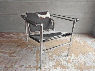 ル・コルビュジェ Le Corbusier LC1 スリングチェア リプロダクト ポニースキン ハラコ ♪