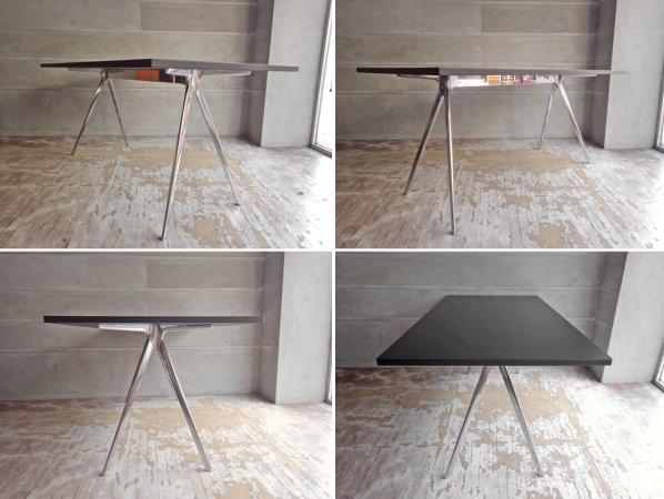 マジス MAGIS バゲット BAGUETTE ダイニングテーブル ブラック モダンデザイン イタリア 定価¥205,700- ♪