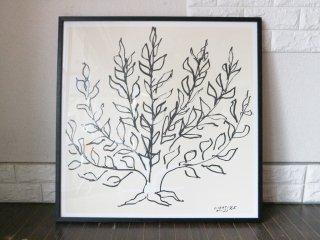 アンリ・マティス Henri Matisse 『 低木 』 アートポスター IDEE イデー 取扱 定価20,350円 ◎