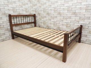 アクメファニチャー ACME Furniture グランビューベッド GRAND VIEW BED セミダブルサイズ フレーム 天然木×アイアン インダストリアル ●