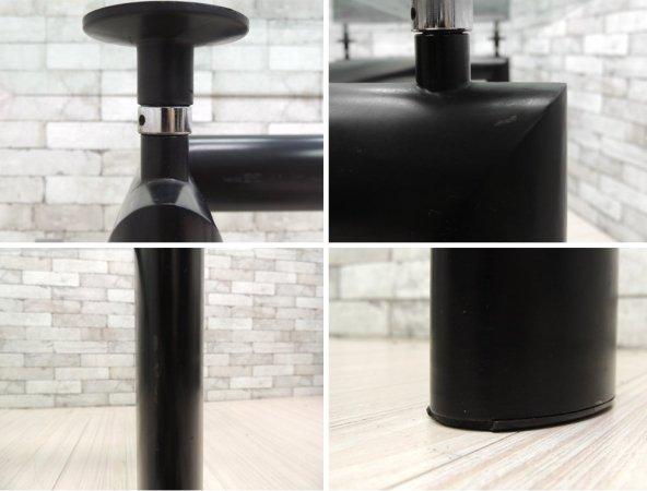 カッシーナ Cassina LC6 ダイニングテーブル クリアガラス W225cm ル・コルビジェ デザイン 名作家具 ●