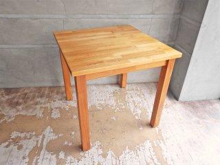 モモナチュラル MOMO natural パイン無垢材 ダイニングテーブル W75cm ♪