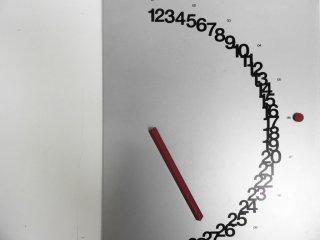 ナヴァデザイン NAVA design メタル永久カレンダー 万年カレンダー 壁掛け 箱付き ジュリオ・コンファロニエリ モダン ●