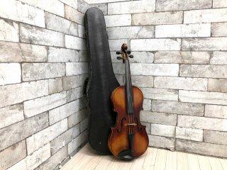 ドイツ製 ヴァイオリン Lippold Hammig 4/4 Model ストラディバリウス Straduarius ハードケース付き バイオリン 現状品 ●