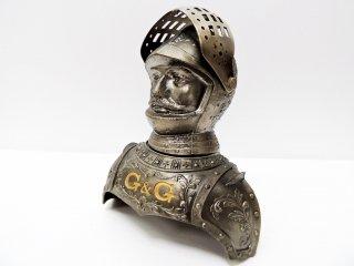 ニッカ NIKKA G&G 甲冑 ボトルカバー 西洋騎士 鎧 インテリア ニッカウヰスキー ニッカウイスキー ボトルキャップ ノベルティ 希少 ●