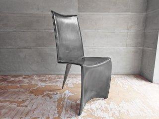 ドリアデ Driade アーチャーチェア ED Archer Chair レザーチェア ブラック フィリップスタルク 本革 イタリア モダン B ♪