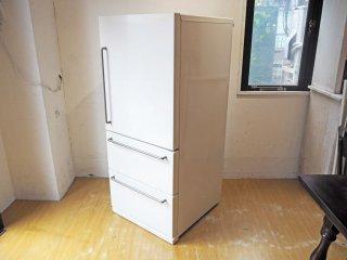 無印良品 MUJI バーハンドル ノンフロン冷蔵庫 MJ-R27A 3ドア 270L 2014年製 深澤直人 シンプルモダン ★