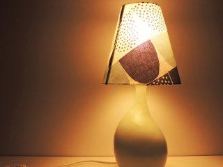 イデー IDEE アイユベースランプ AIL VASE LAMP カウニステ ソケリ ファブリックシェード 希少 限定アイテム ●