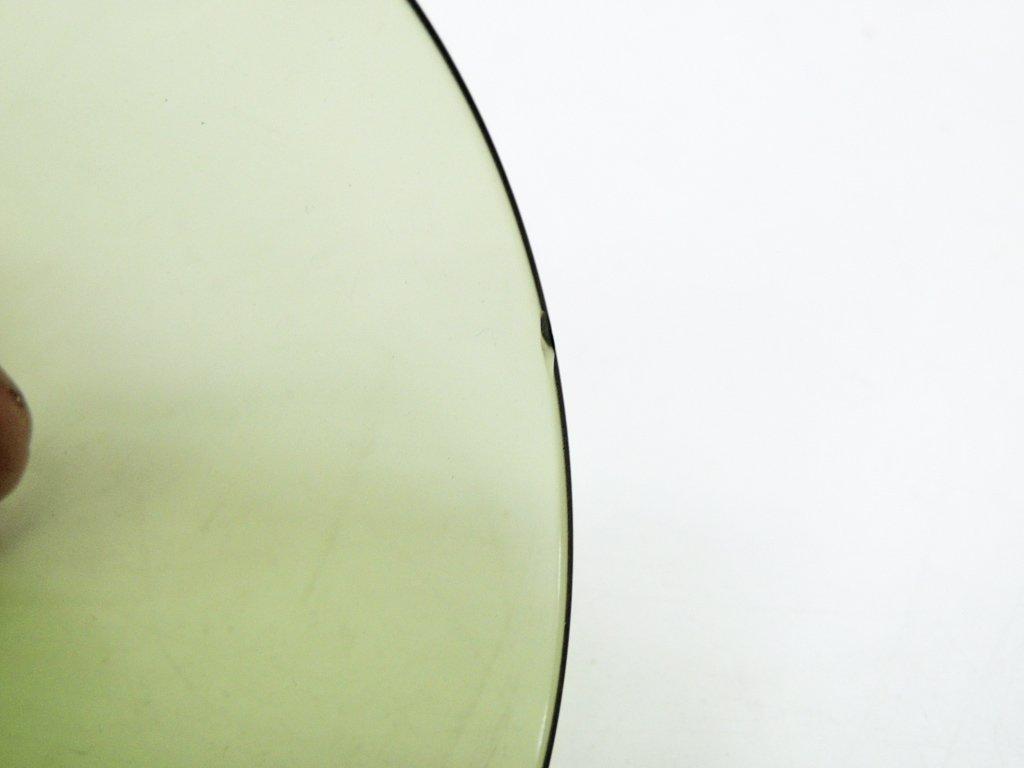ヌータヤルヴィ Nuutajarvi #2744 グラス モスグリーン カイ・フランク KAJ FRANCK 手吹き ビンテージ ●