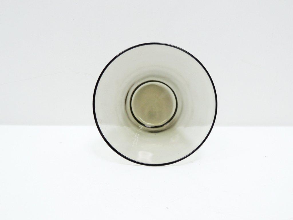ヌータヤルヴィ Nuutajarvi #2744 グラス スモーク カイ・フランク KAJ FRANCK 手吹き ビンテージ B ●