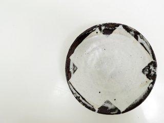 小野哲平 中皿 盛り皿 6寸 クロス模様 現代作家 ●