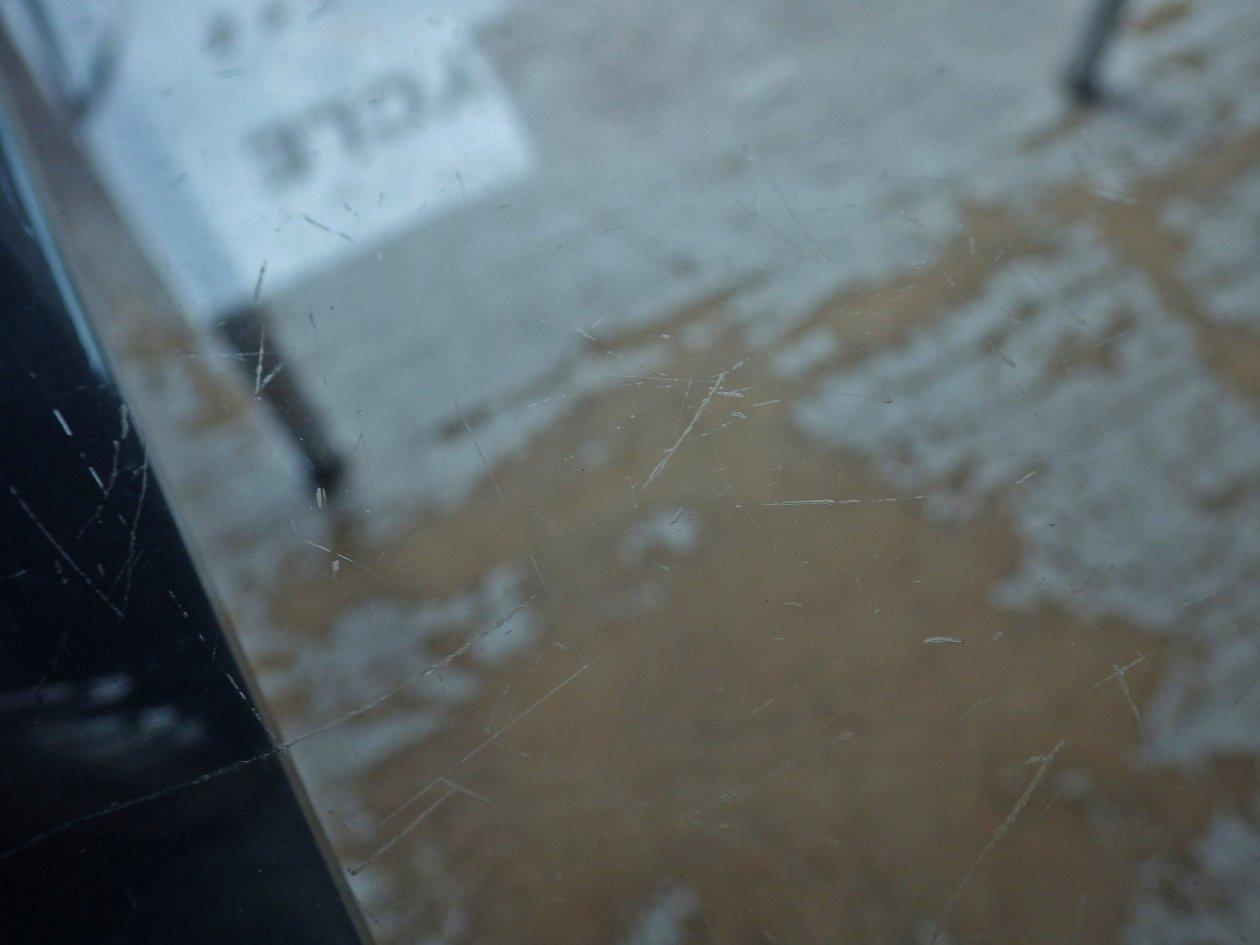 カッシーナ Cassina LC10-P ダイニングテーブル W120cm 刻印有 ルコルビジェ シャルロットペリアン ピエールジャンヌレ 定価¥400,000- ♪