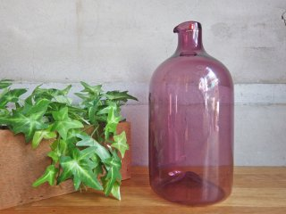 イッタラ iittala バードボトル Bird Bottle i-400 ティモ・サルパネヴァ TimoSarpaneva 1957-1966年 ライトパープル 刻印あり ♪