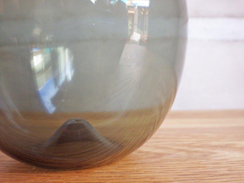 イッタラ iittala バードボトル Bird Bottle i-401 ティモ・サルパネヴァ TimoSarpaneva 1957-1968年 グレー フル刻印 ♪