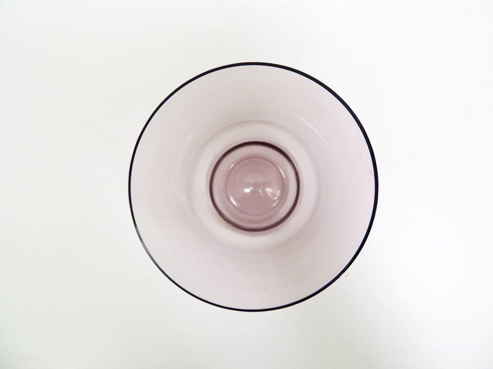 イッタラ iittala ガラス タンブラー i-106 パープル ティモ・サルパネヴァ Timo Sarpaneva ビンテージ 北欧食器 C ●