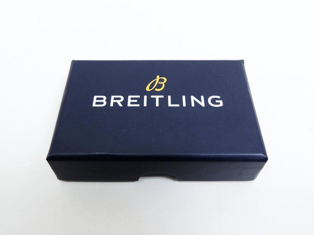 ブライトリング BREITLING キーホルダー キーリング ノベルティ 箱付き 未使用品 ●