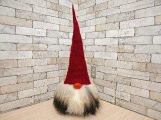 オーサトムテボッド Asas Tomtebod トムテ ノーム Valter レッドハット ウール スウェーデン製 オブジェ 人形 ●