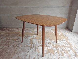 カリモク60+ karimoku Dテーブル ウォールナットカラー デコラトップ カフェテーブル ミッドセンチュリー テーブル ♪