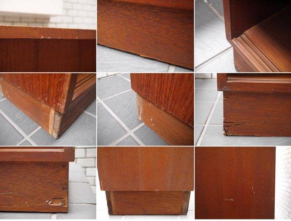 ジャパンビンテージ Japan vintage チーク材 ブックシェルフ 本棚 飾り棚 ■