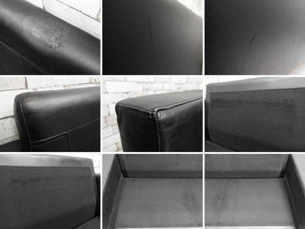 ムーア MOOR トウキョウ ソファ Tokyo Sofa 2.5人掛け ソファ 本革 ブラック TOKYO-1800-L 定価:\199,500- ●