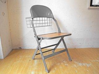 クラリン CLARIN フォールディングチェア 折り畳みチェア Folding chair SANDLER 専用バスケット付き P.F.S取扱 ★