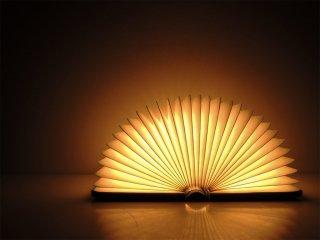 ルミオエスエフ Lumio sf ミニ・ルミオ プラス mini Lumio+ ブック型 コードレス LEDランプ グレー×レッド インテリアランプ MoMA取り扱い ●