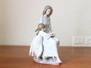 リヤドロ LLADRO  『おやすみ前のご本 』 希少 フィギュリン 陶器 人形 置物 世界限定2000体 ◎