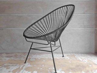 メトロクス METROCS アカプルコチェア Acapulco Chair ブラック メキシコ PVCコード ♪