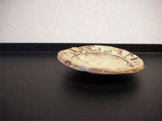 キム・ホノ KIM HONO ラウンドミニプレート Round mini plate 15.5cm 菓子皿 小品皿 陶芸 現代人気作家 ★