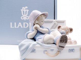 リヤドロ LLADRO 『一緒に遊ぼう』 フィギュリン オブジェ 人形 箱付き スペイン製 定価:61,600円 ●