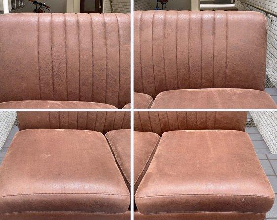 ノットアンティークス Knot antiques グレス ソファ GRESS SOFA 2シーター Sサイズ アームレス カカオ CRASH GATE取扱い ■