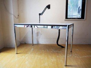 USMモジュラーファニチャー USMハラーテーブル アドバンス Haller table advance +スクリーンアーム+リンクチェーン 美品 ★