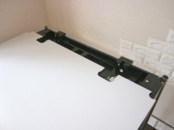 USMモジュラーファニチャー USMハラーテーブル アドバンス Haller table advance +スクリーンアーム+リンクチェーン 美品 ◎